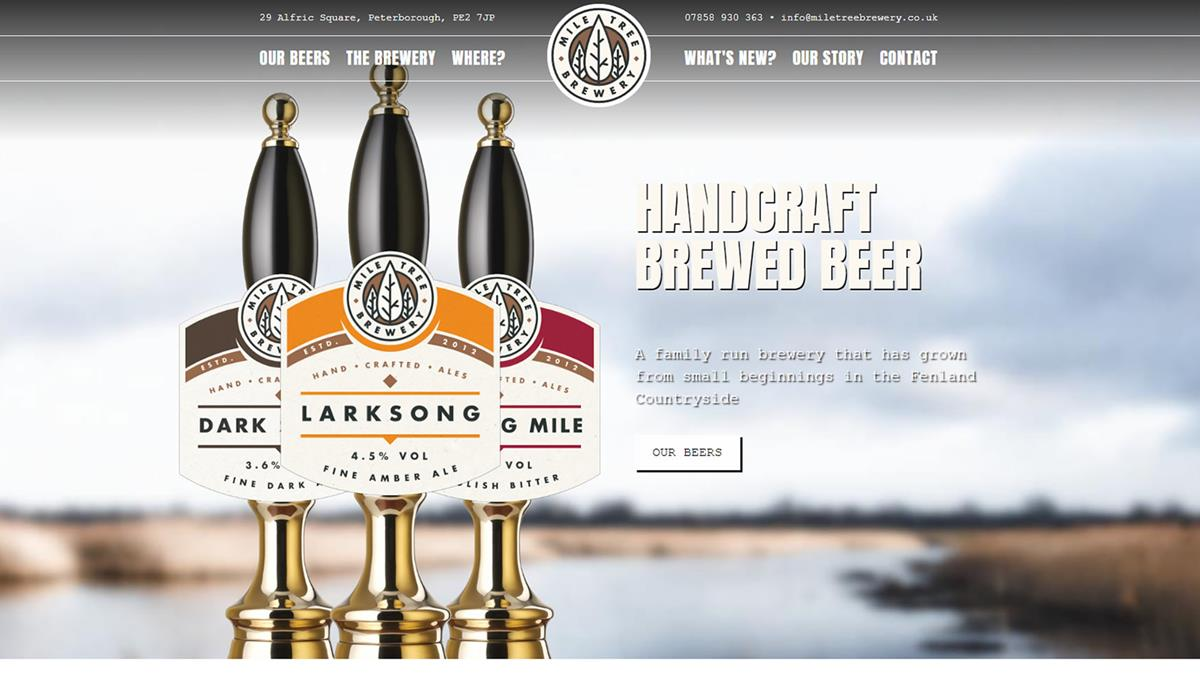 Mile Tree Brewery Home Page