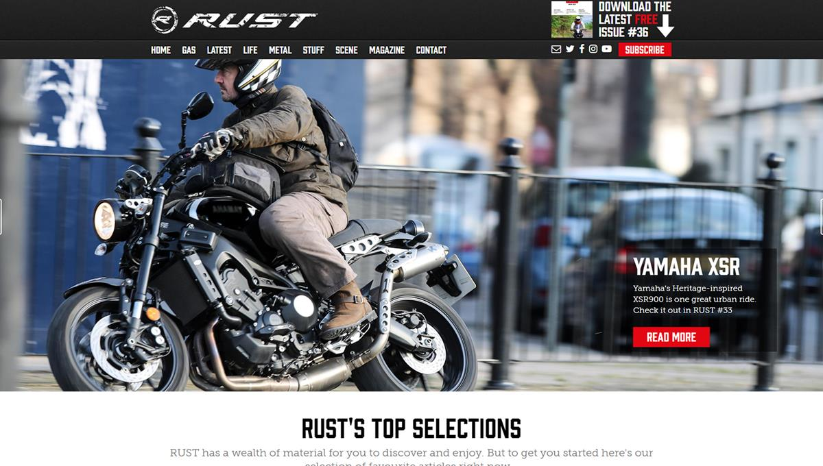 Rust Sports Home Page
