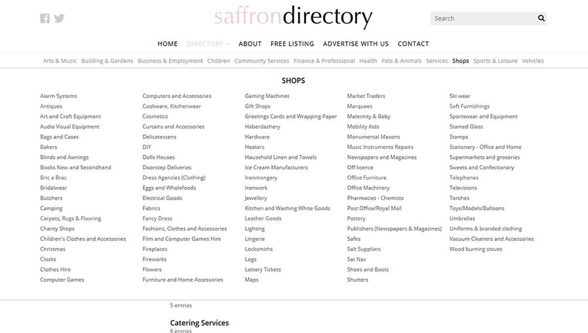 Saffron Directory